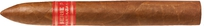 Bellicoso: Cigar length: 6.14 inches; Cigar diameter: 0.81 inches